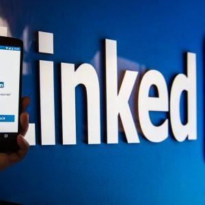Študentský profil na LinkedIn