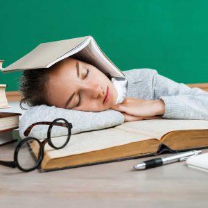 Spánkový rytmus po skúškovom
